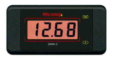 Afficheur d'état de la batterie DMM-3br2